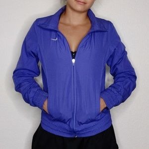 blue nike windbreaker jacket